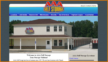 Client AAA Self Storage